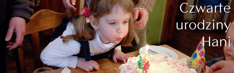 Czwarte urodziny Hani